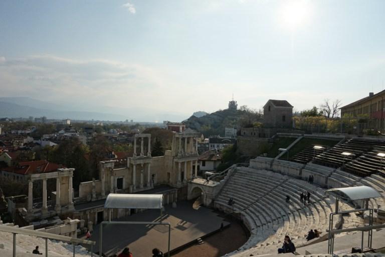Anfiteatro de Plovdiv, Bulgaria