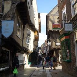Shambles, la calle mas turistica