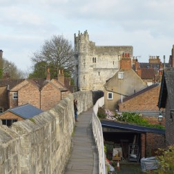Fragmento de muralla York