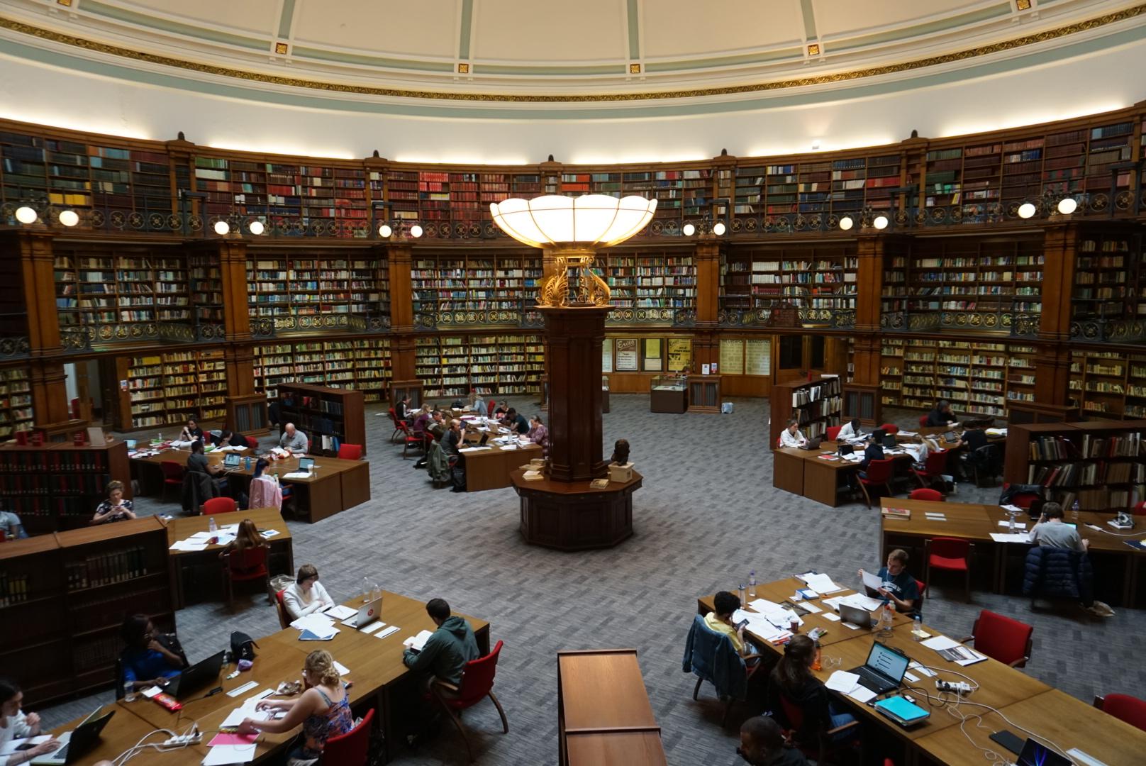 Biblioteca estilo victoriano, que ver en LiverpoolBiblioteca estilo victoriano