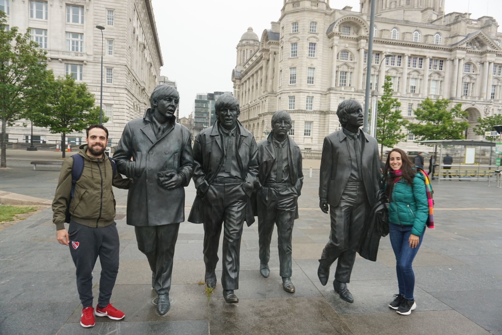 La estatua de los Beatles, que ver en Liverpool