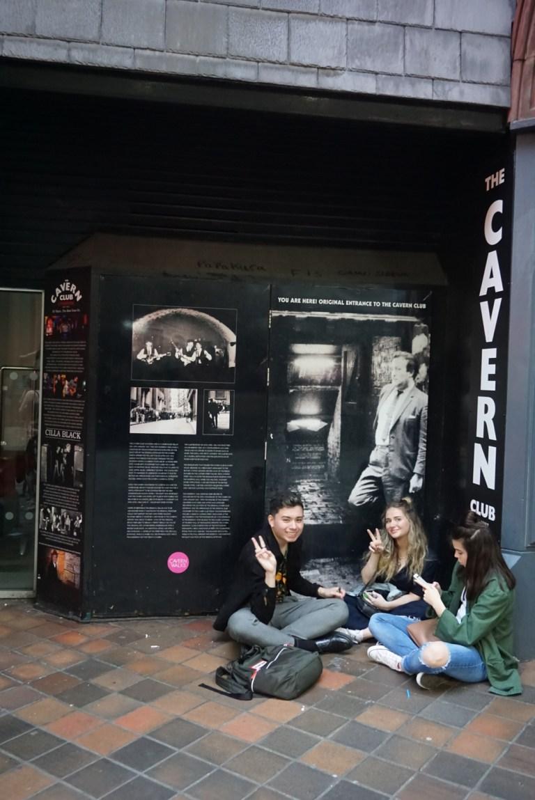 La entrada original de The Cavern ClubLa entrada original de The Cavern Club