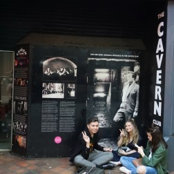 La entrada original de The Cavern Club
