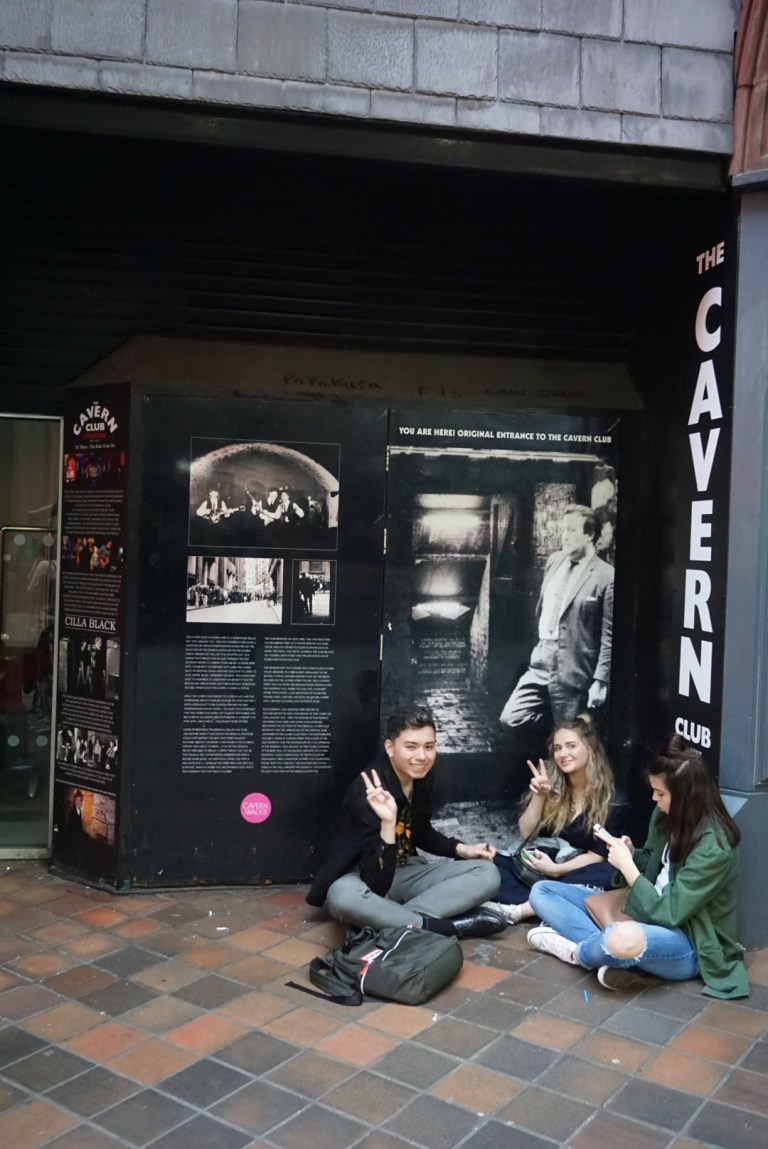 La entrada original de The Cavern ClubLa entrada original de The Cavern Club