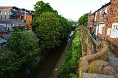 Parte de la muralla de Chester