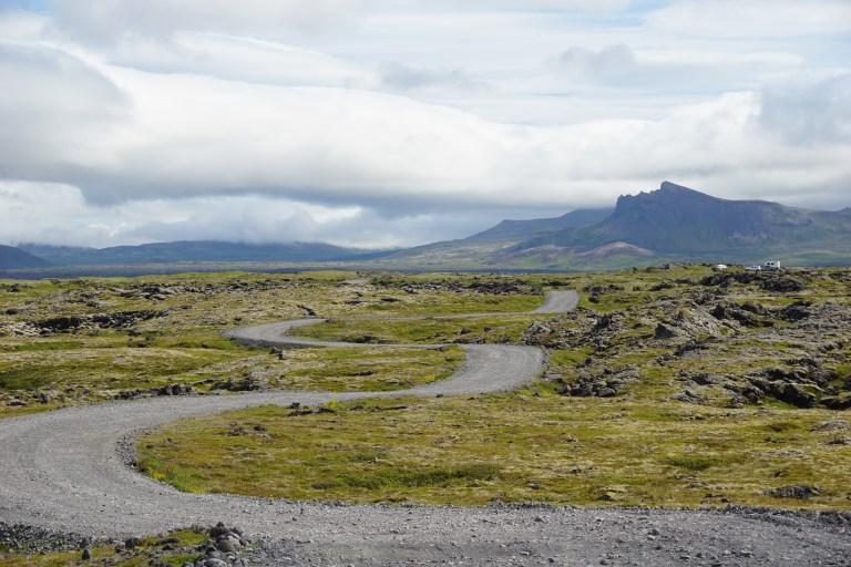 Postal del Parque Nacional Snæfellsjökull