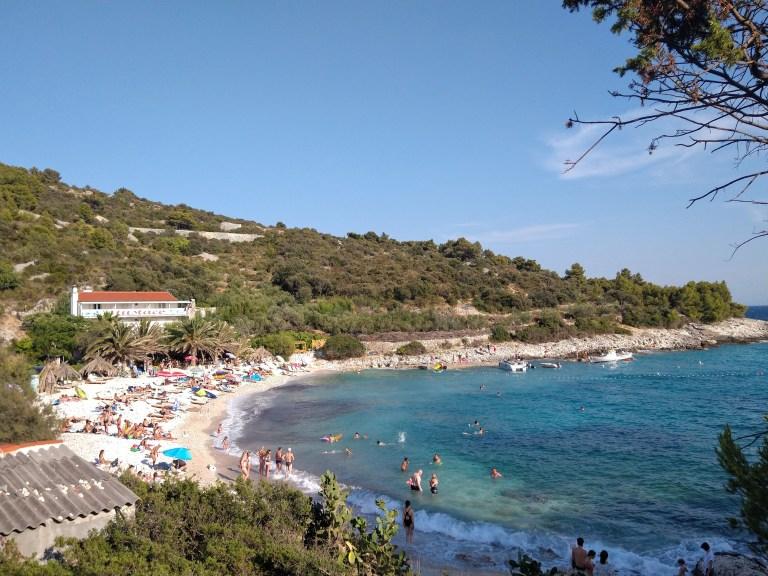 Pokonji dol Beach en la isla de Hvar