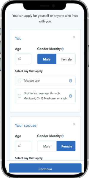 Health Insurance Mobile Quote 2