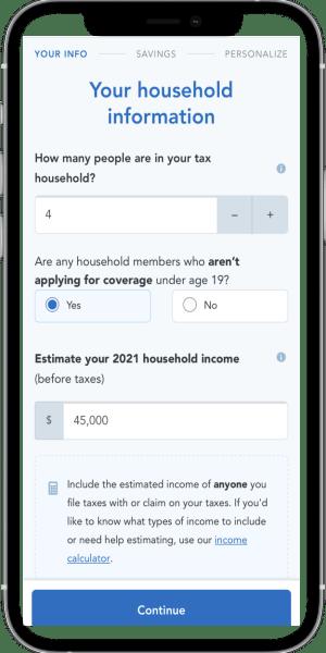 Health Insurance Mobile Quote 3