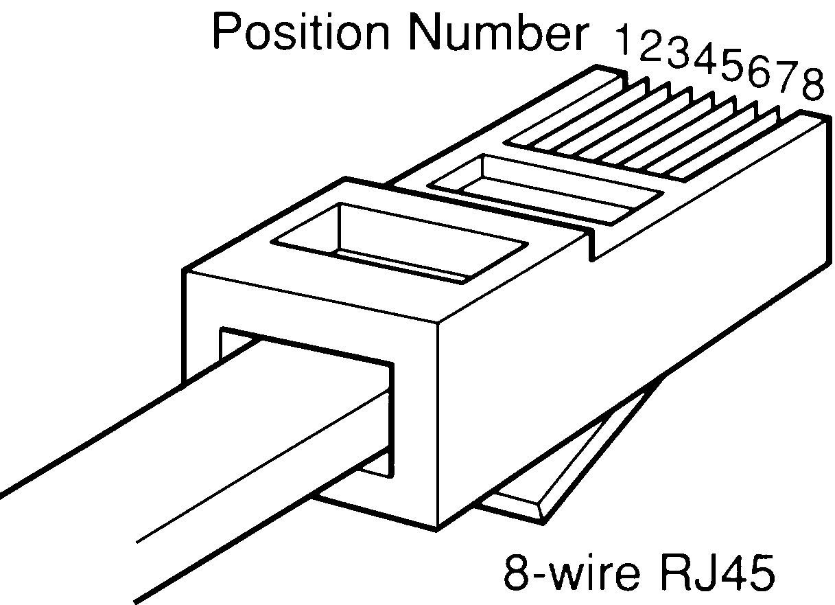 Rj45 Pin Out