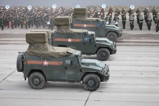 Raketový protitankový komplex Kornet-D na vozidle VPK-233116 Tigr-M