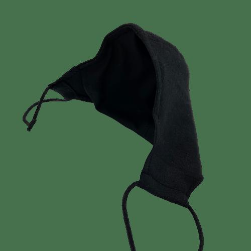 Mascarilla lino negro 6