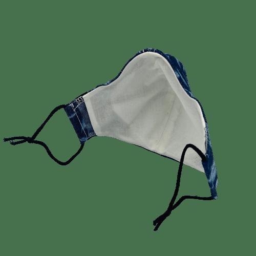 Mascarilla Azul plumas ARMATTA 6