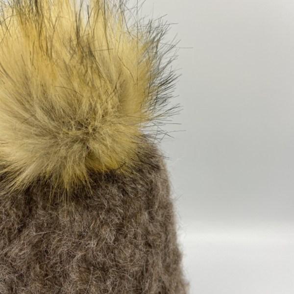 Gorro alpaca marrón ARMATTA 4