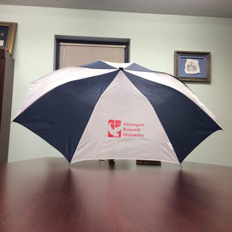 Auto Open Folding Poly Nylon Umbrella