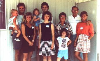 John and Ethel Armbruster family