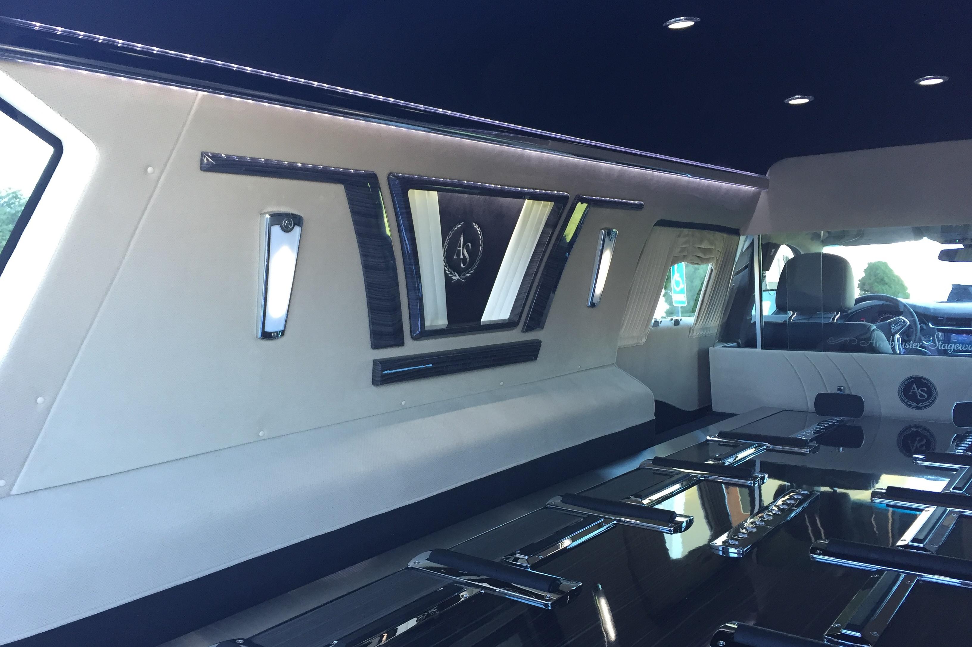 Crown Landaulet Hearse Car Armbruster Stageway