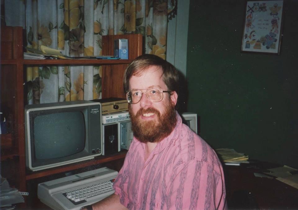 CoCo programmer, Rick Adams.