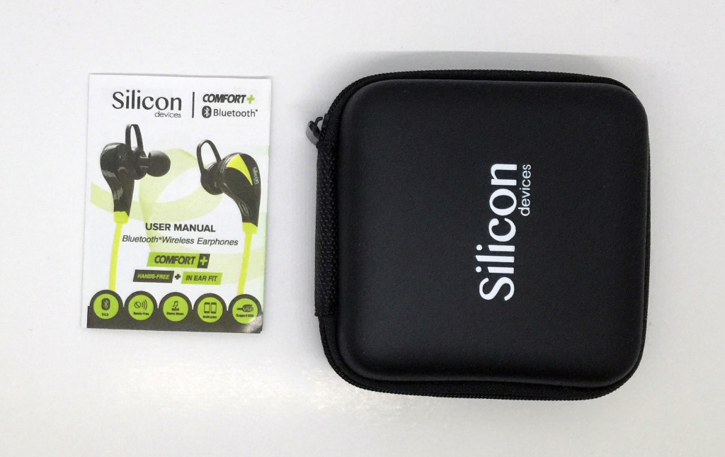 Silicon Devices COMFORT+ case plus manual.