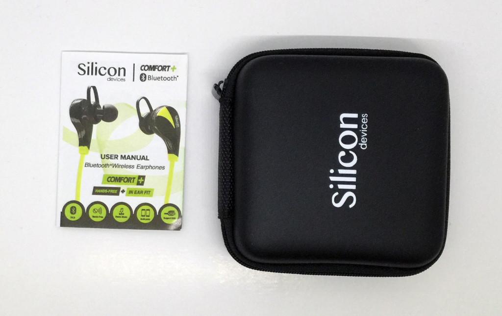 Silicon Devices COMFORT+ case plus manual.