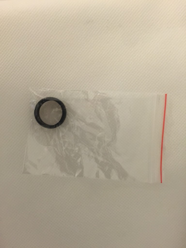 How the Silicone Wedding Ring comes packaged.
