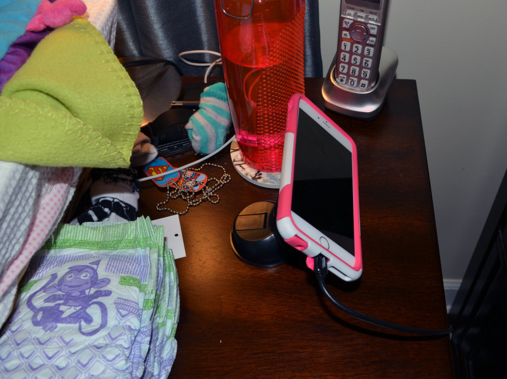 The Infernal Innovations Magnetic Phone Mount even works great by a busy bedside.