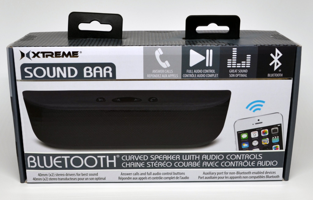 The front of the box for the speaker.