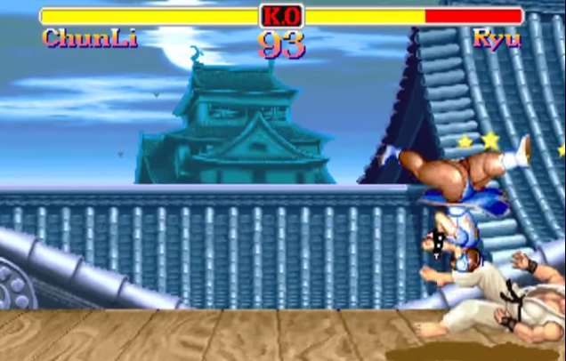 "Some of Chun-Li's moves are quite ""special."""