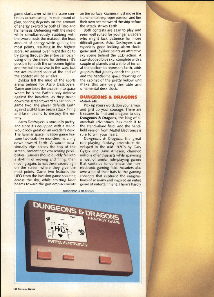 Page 106 - Electronic Games, June 1983