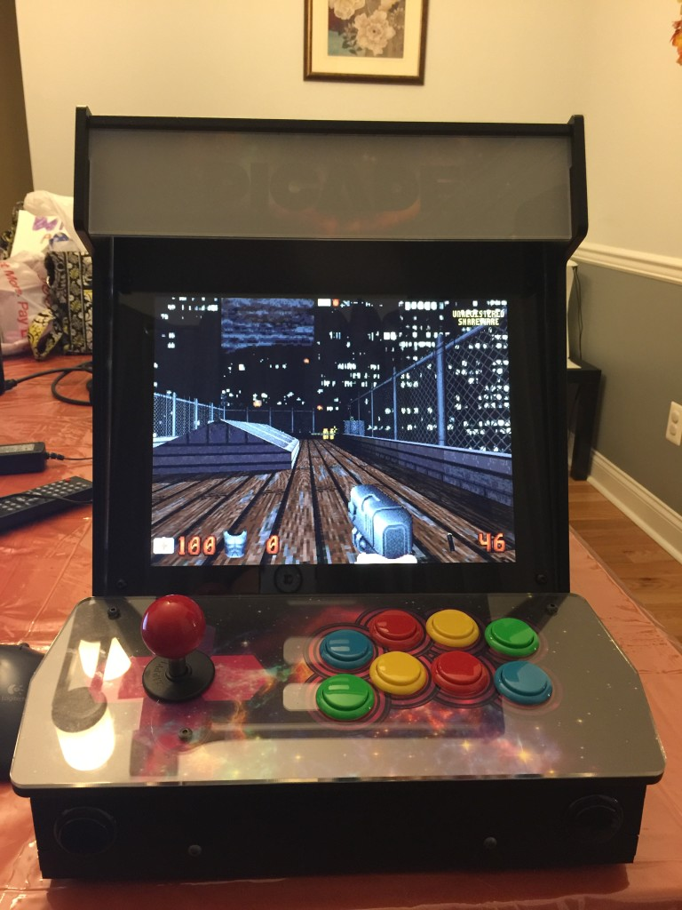 Duke Nukem 3D is cool, but not something I really want to play on this type of setup.