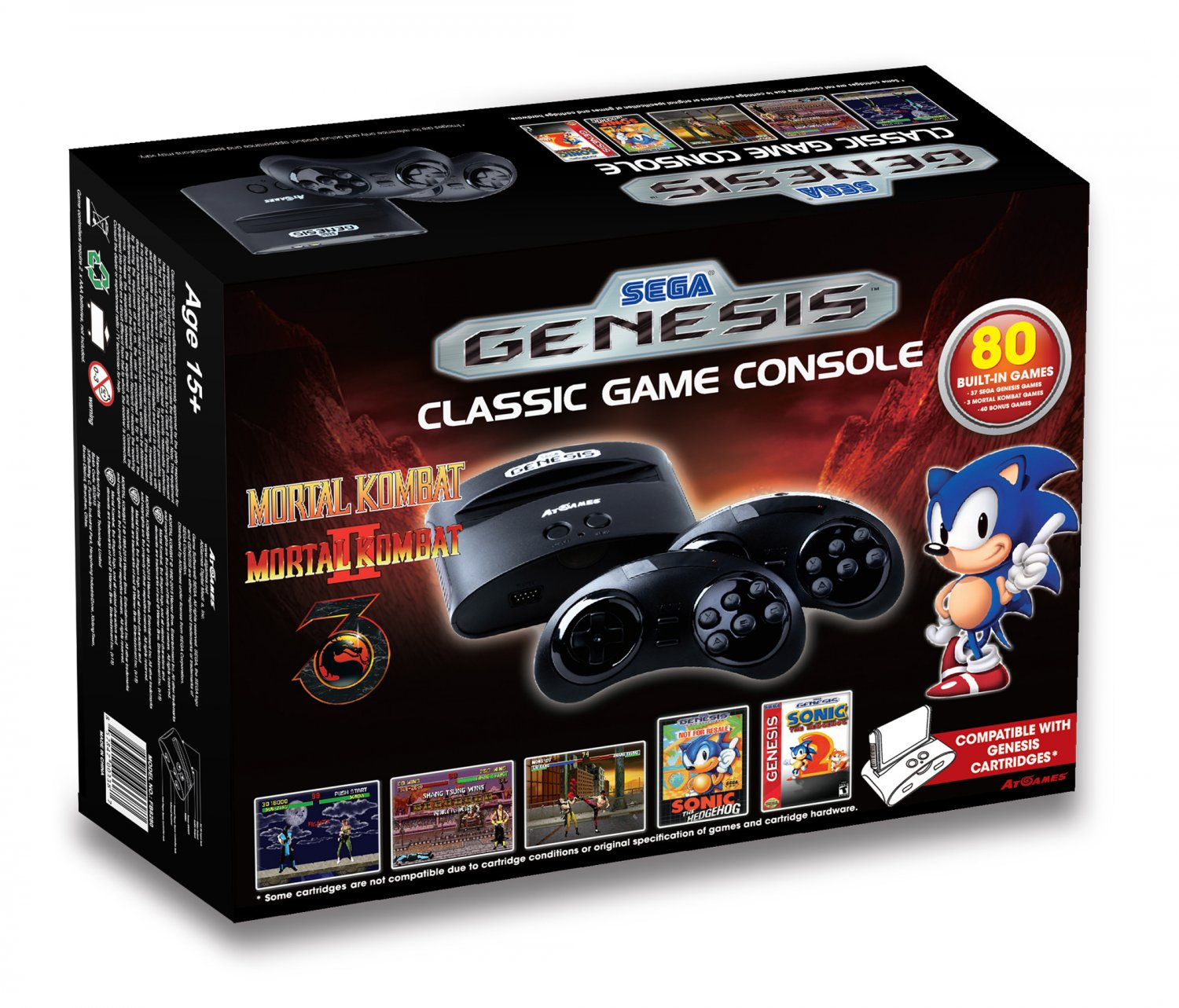 Sega Genesis Classic Game Console 2015 The Official