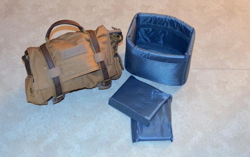 Esddi Caden F3 Khaki Canvas Camera Bag