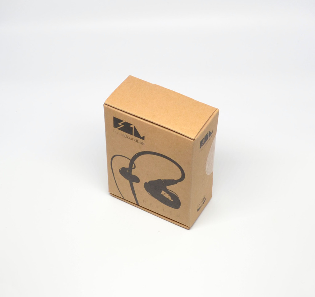 The box for the FSL Reflex Bluetooth Earbuds.