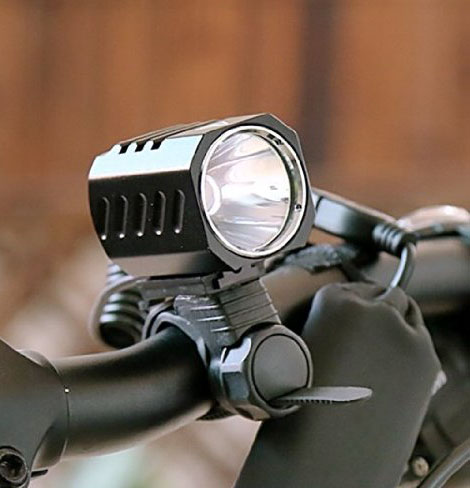 Use as a bicycle light.