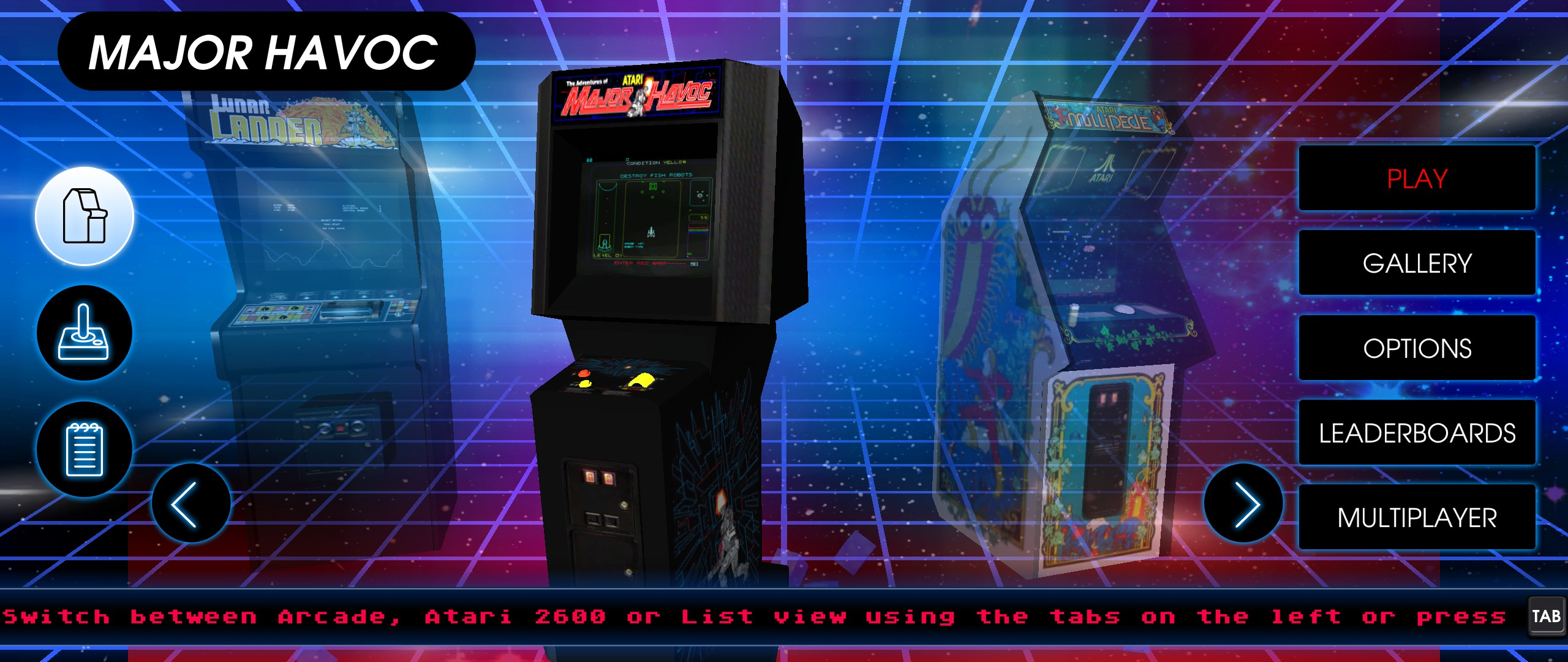 Atari Vault: The Official List of 100 Games
