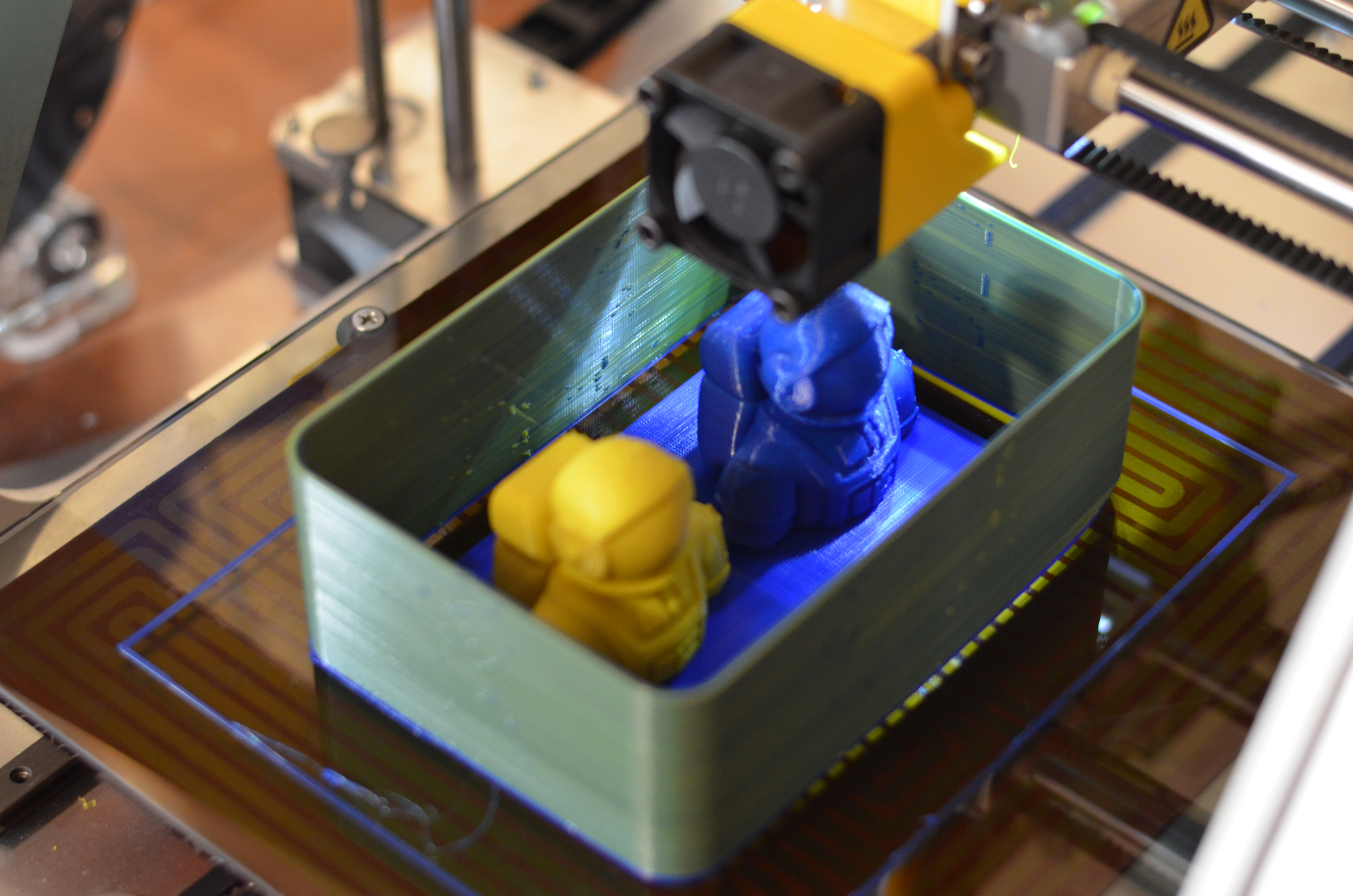 This is a preview of the Dual Pro's 3D printing capabilities. It's a pity I can't finish that portion of the review for now.