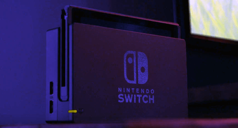 Nintendo Switch docked for TV play. Freedom to play anywhere and in the way you like seems to be the driving force behind the new system.