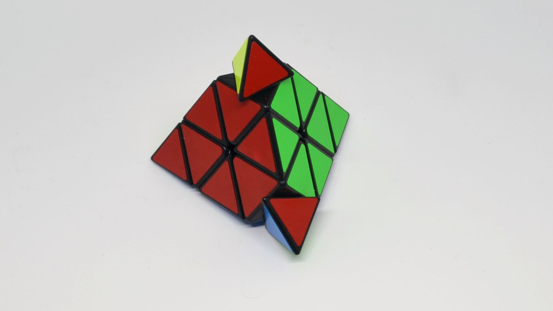 It's a nice looking puzzle cube.
