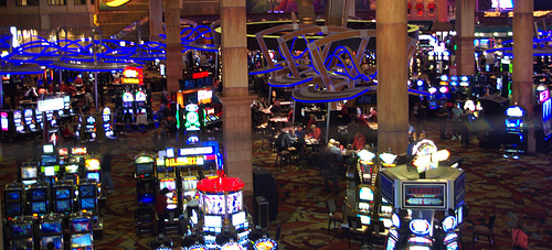 """Slot Machines"" (CC BY 2.0) by Spixey"