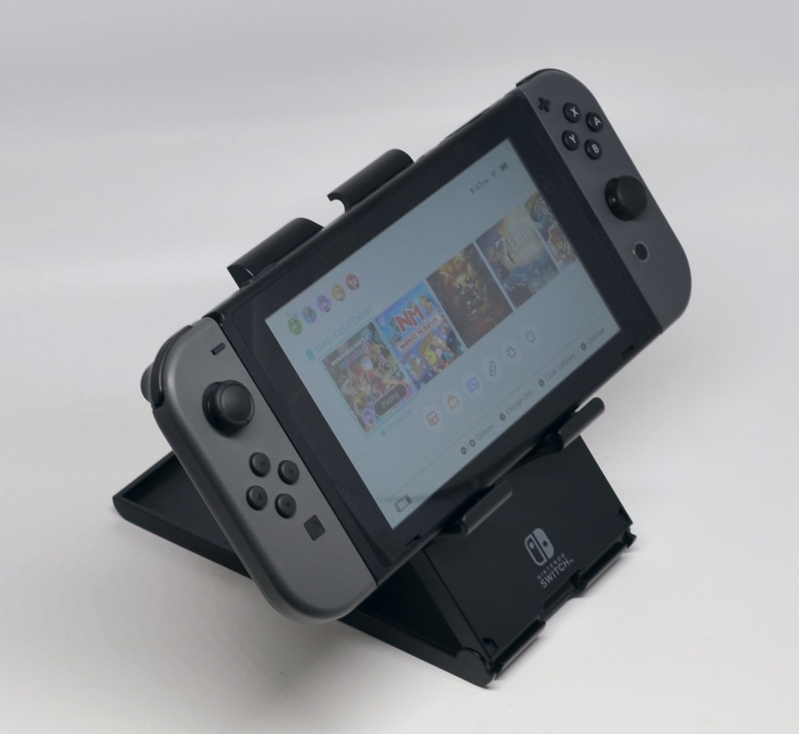 The Switch placed horizontally.