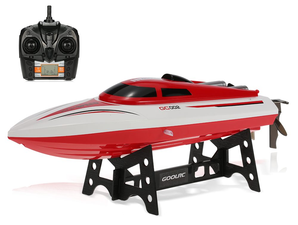 Review: GoolRC GC002 2.4G Remote Control Flip 20 KM/H High Speed Electric RC Racing Boat
