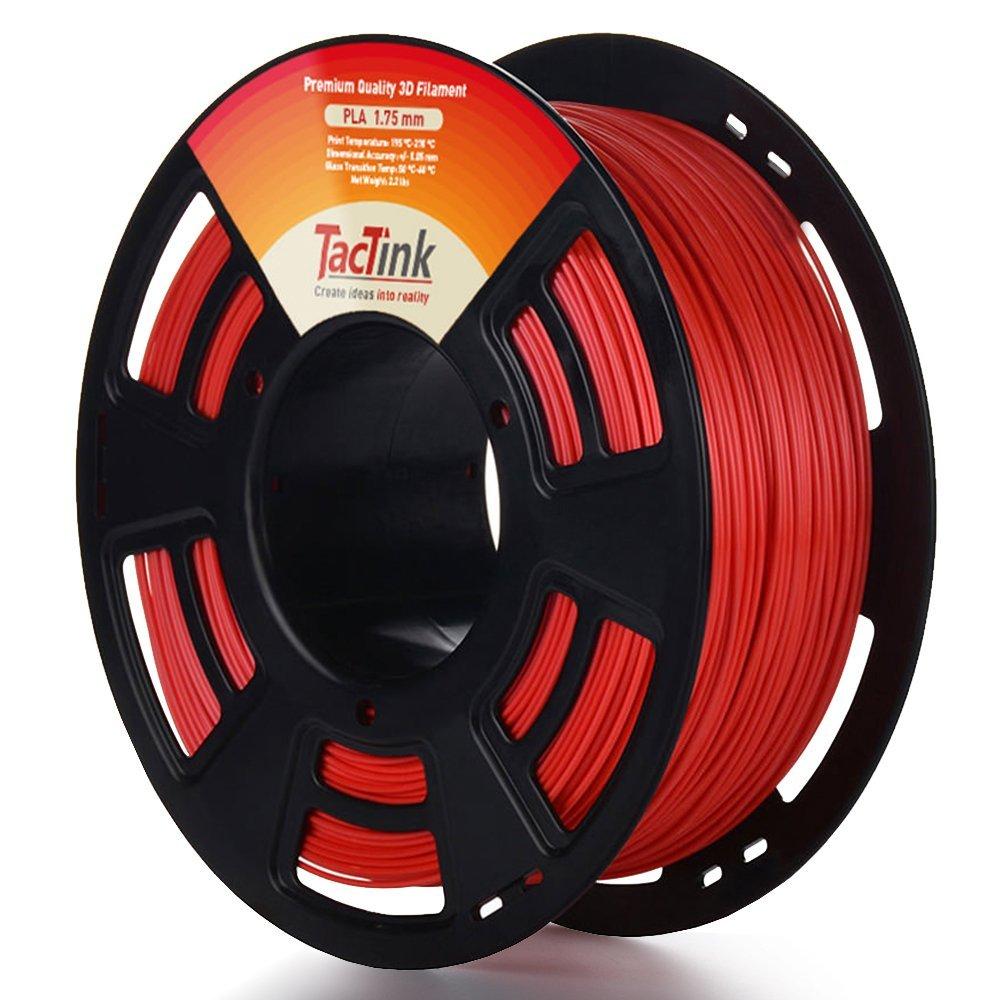 Tactink RED PLA3D printing filament