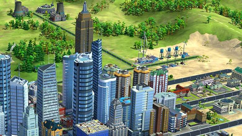 SimCity skyline and building site. Source: Bing.com