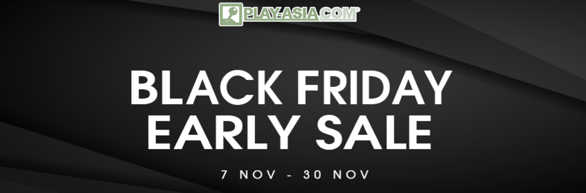 Play-Asia.com early Black Friday Sale – Up to 75% off!