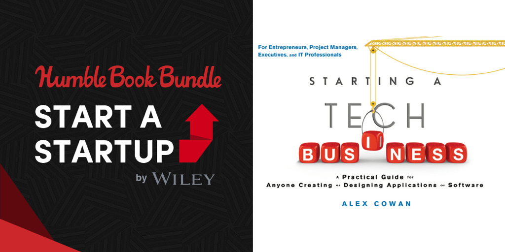 Pay what you want for Humble Book Bundle: Start a Startup by Wiley