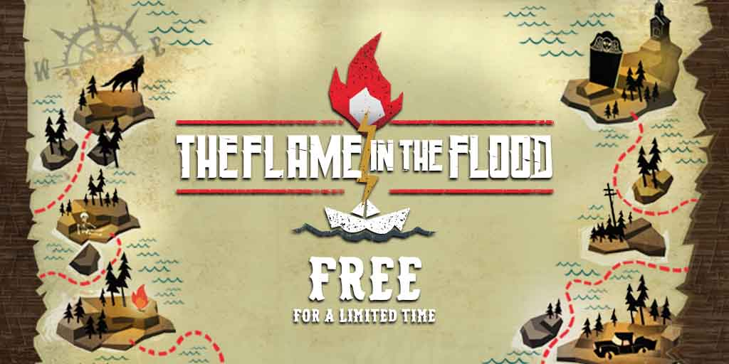 Get Flame in the Flood for Steam for free, as well as other big game sales in the Spring Sale!