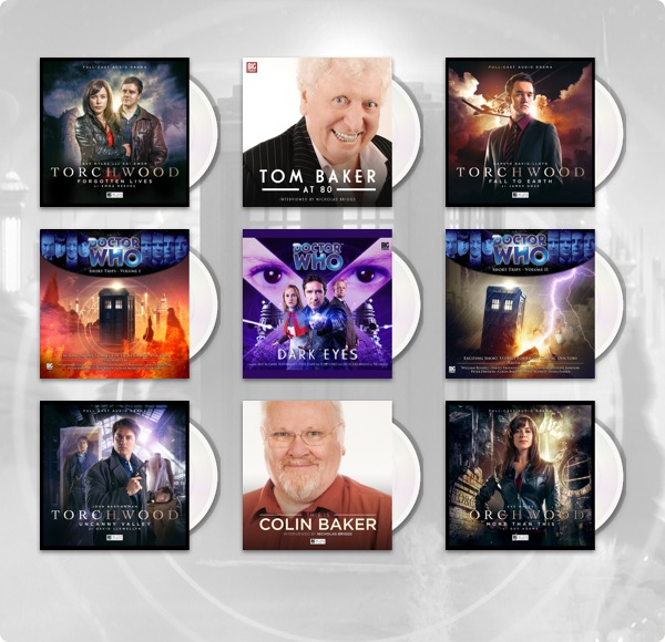 The Humble Audiobook Bundle: More Torchwood & Doctor Who presented by Big Finish