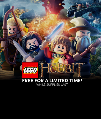 FREE copies of LEGO® The Hobbit™