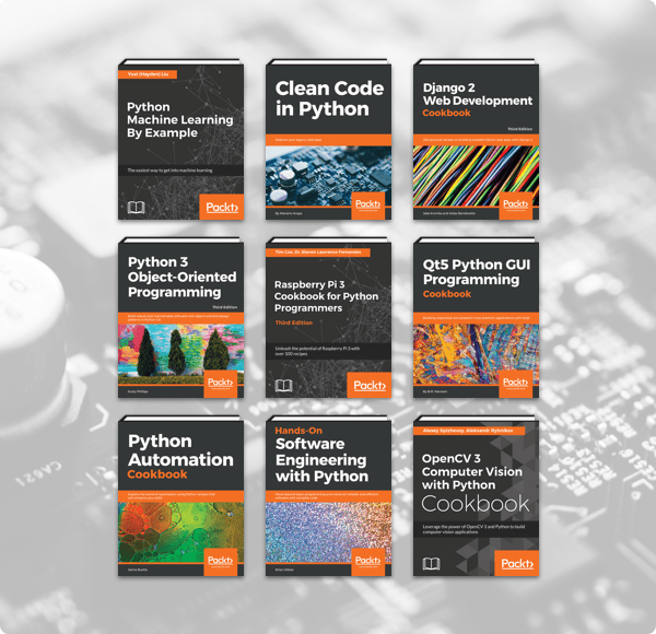 Name your own price for The Humble Book Bundle: Python 2019 by Packt