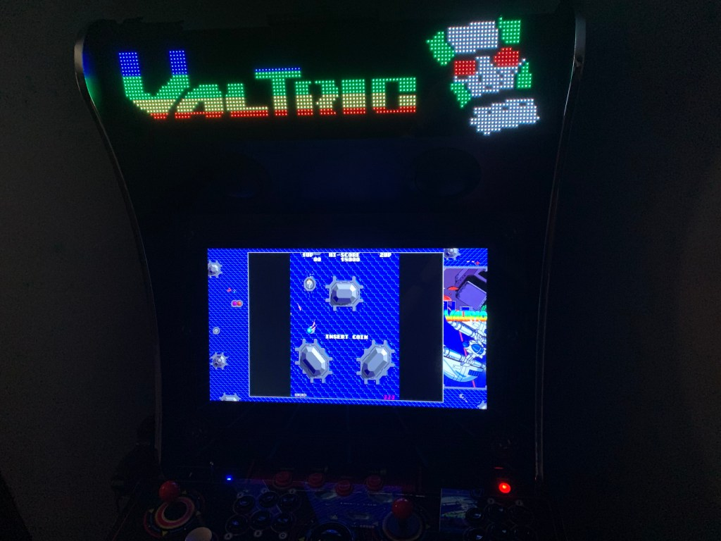 Valtric on the Legends Ultimate with Pixelcade